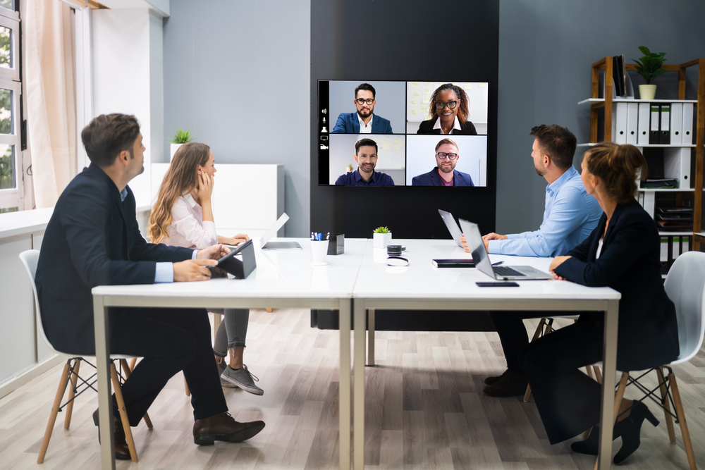People in a Conference Room