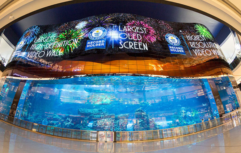 world's largest video wall
